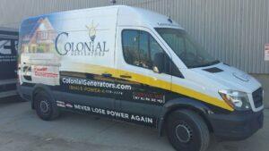Colonial Generator Custom Home Generator Truck